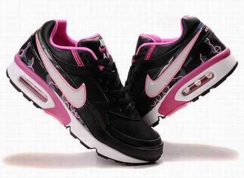 Nike Air Max Bw Noir Rose Femme